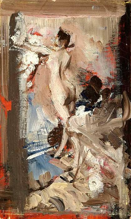 The Artists Model Montecatini. Giovanni Boldini