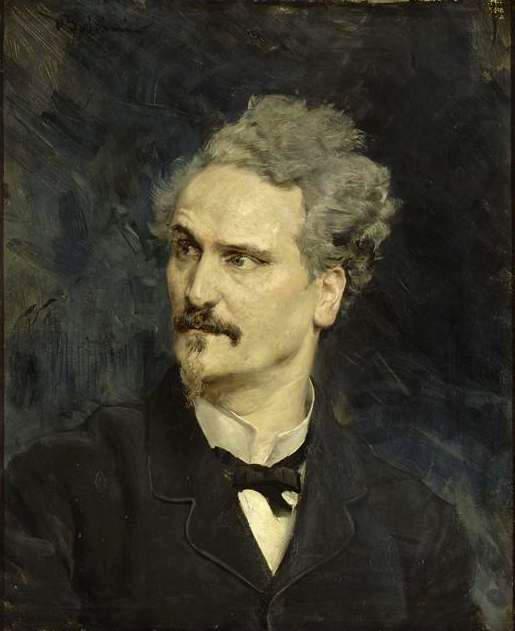 Portrait of Henri Rochefort 1882. Giovanni Boldini