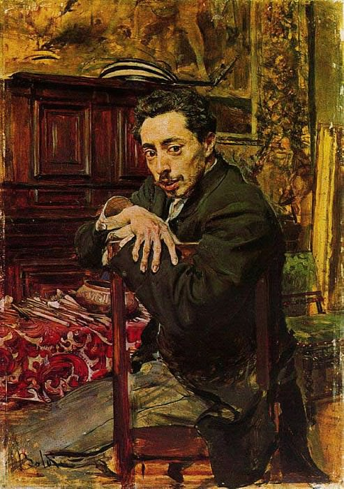 Ritratto del Pittore Joaquin Araujo Ruano. Giovanni Boldini
