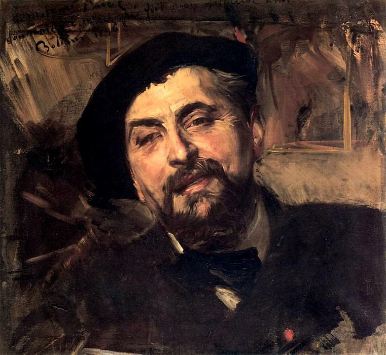 Portrait of the Artist Ernest Ange Duez 1894. Giovanni Boldini