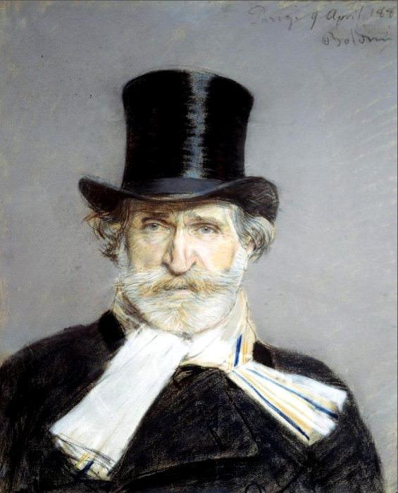 Portrait of Giuseppe Verdi 1886 2. Giovanni Boldini