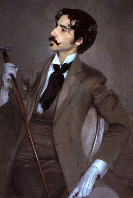 Count Robert de Montesquiou 1897. Giovanni Boldini
