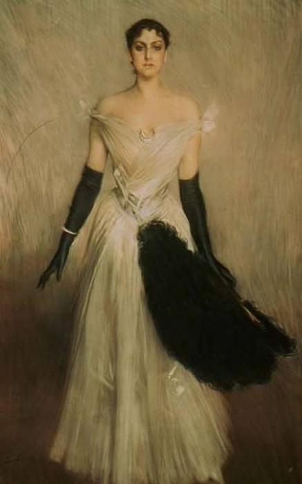 Portrait of a Lady. Giovanni Boldini