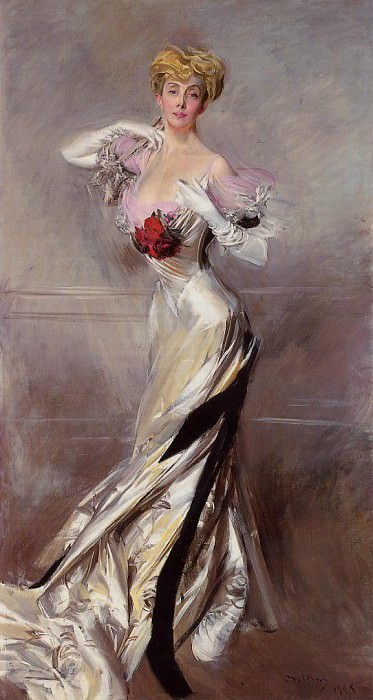 Portrait of the Countess Zichy. Giovanni Boldini