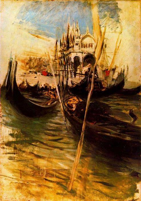 San Marco in Venice 1895. Giovanni Boldini