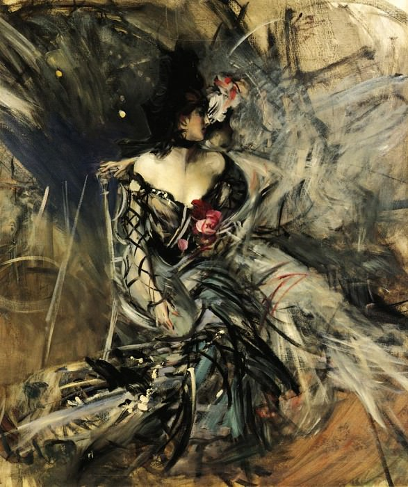 Spanish Dancer at the Moulin Rouge. Giovanni Boldini