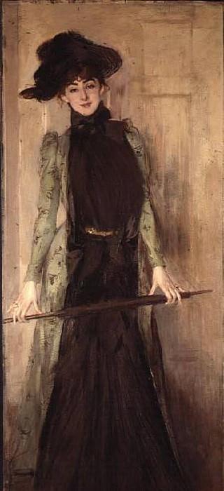 Princesse de Caraman Chimay later Madame Jourdan. Giovanni Boldini