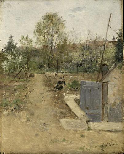 In the Garden 1875. Giovanni Boldini