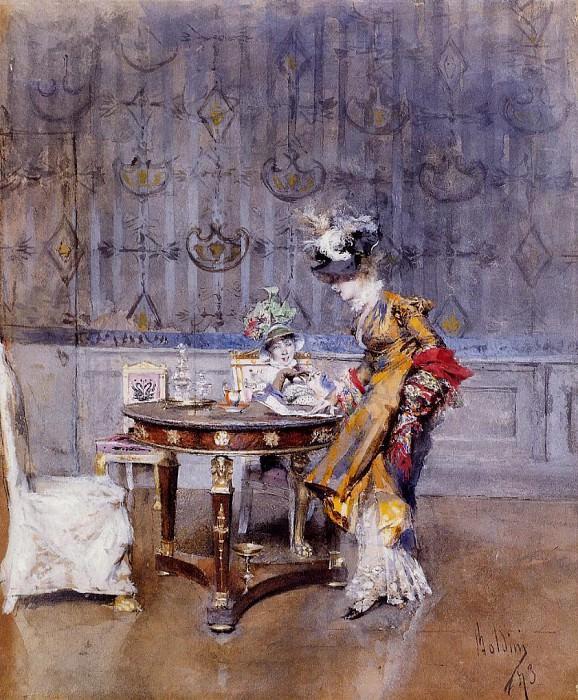 Письмо, 1873. Джованни Больдини