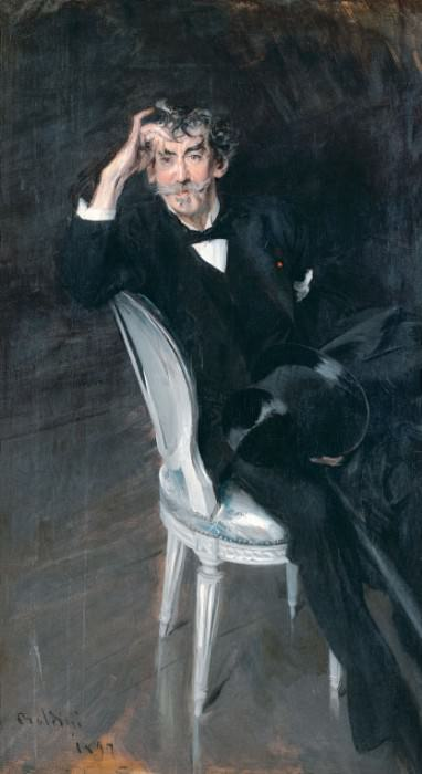 Portrait of James McNeill Whistler. Giovanni Boldini