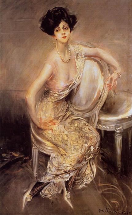 Portrait of Rita de Acosta Lydig. Giovanni Boldini