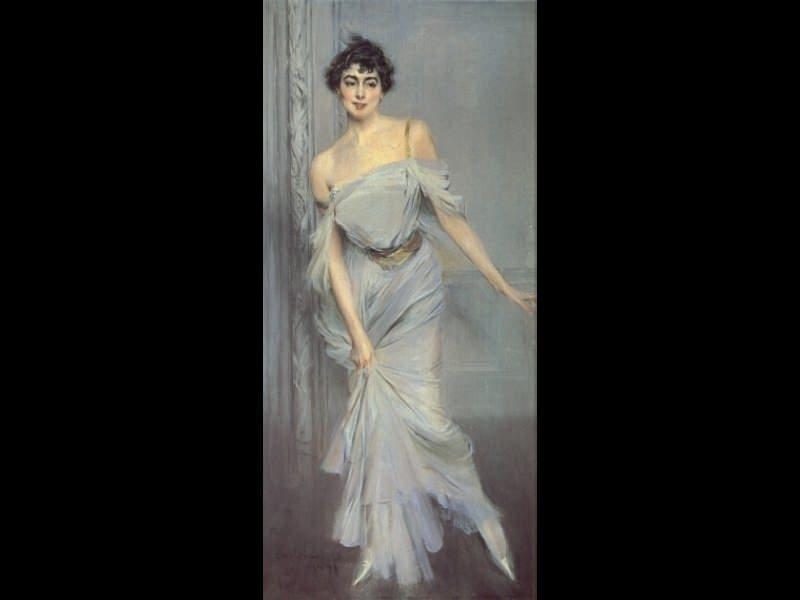 Madame Charles Max. Giovanni Boldini