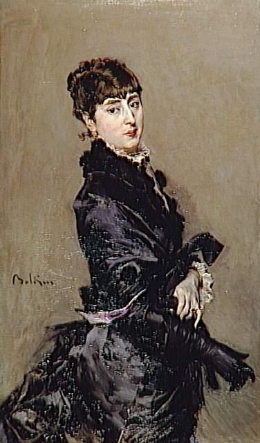 Portrait of Cecilia de Madrazo. Giovanni Boldini