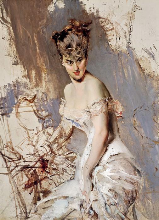 Alice Regnault, 1880. Giovanni Boldini
