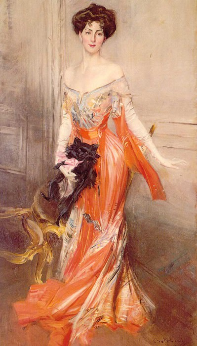 Portrait of Elizabeth Wharton Drexel 1905. Giovanni Boldini