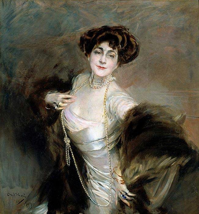 Diaz Albertini 1909. Giovanni Boldini