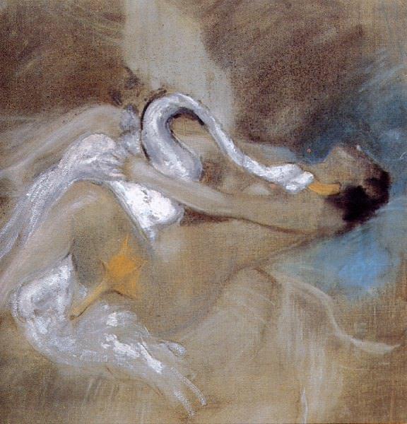 Leda con Cisne. Giovanni Boldini