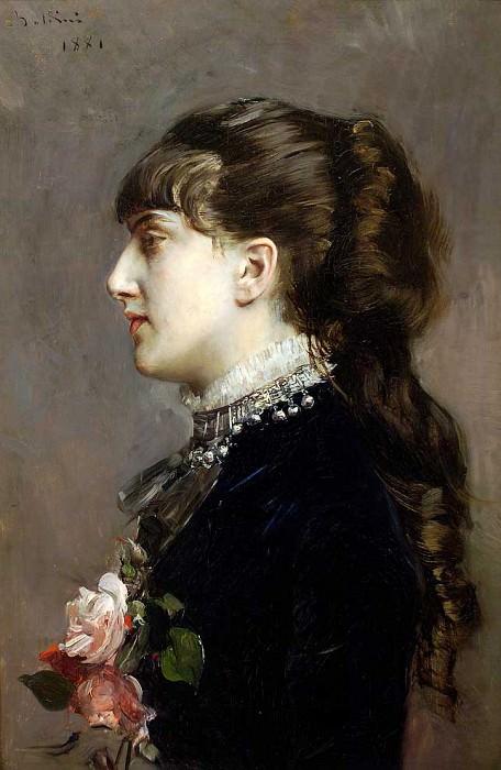 Madame Leclanche. Giovanni Boldini