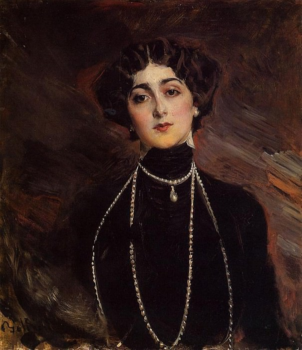 Lina Cavalieri 1901. Giovanni Boldini