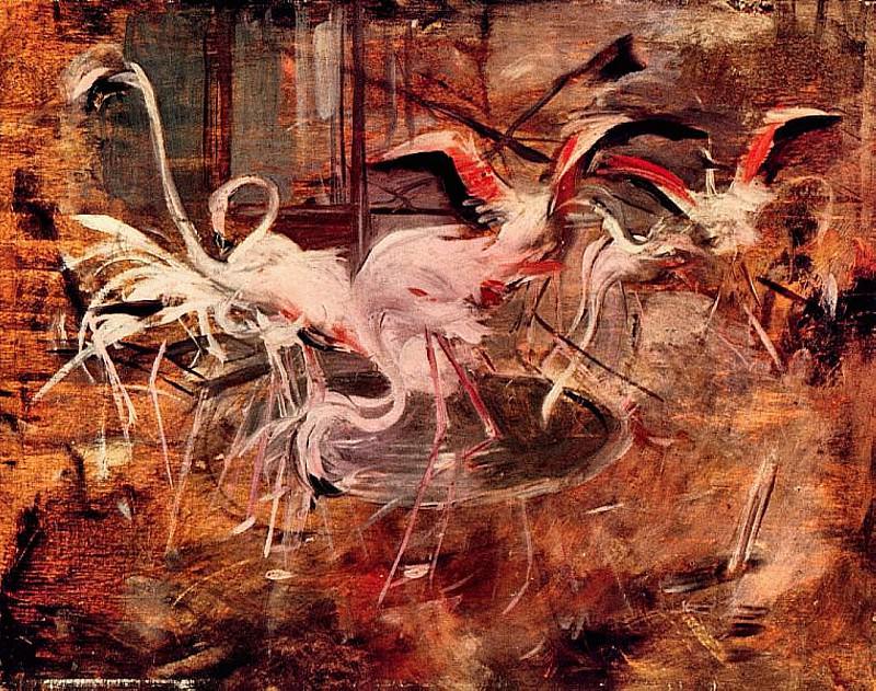 Ibis del Palazzo Rosa a Vesinet. Giovanni Boldini