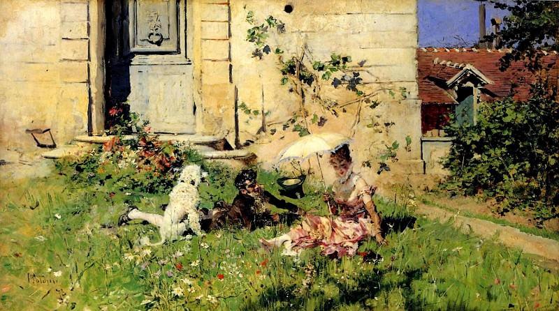Spring 1873. Giovanni Boldini
