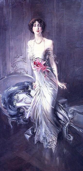 Portrait of Madame E. L. Doyen. Giovanni Boldini