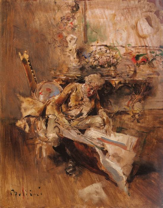 The Art Connoisseur. Giovanni Boldini
