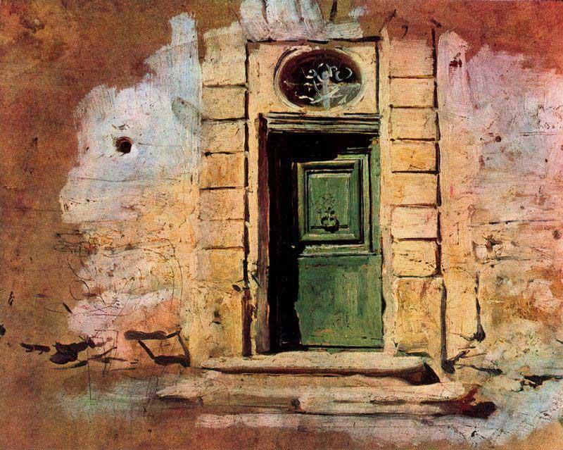 Porticina a Montmartre. Giovanni Boldini