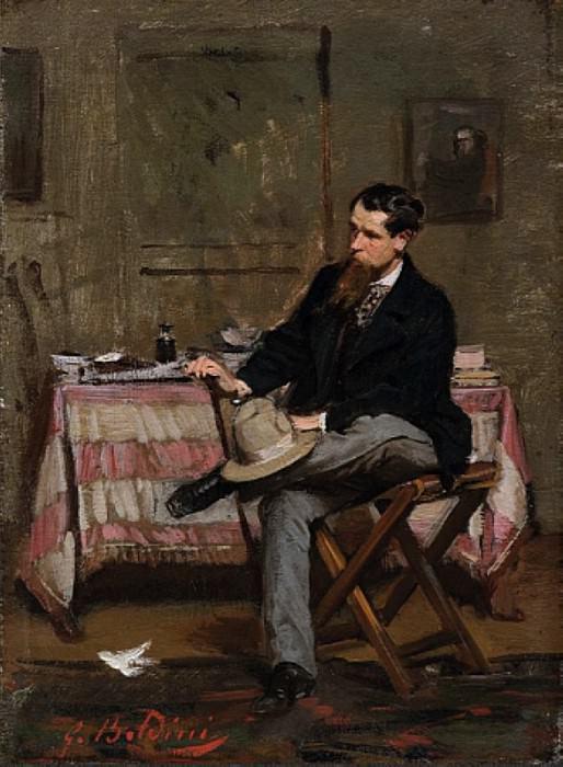 Художник Винченцо Кабьянка, 1909. Джованни Больдини