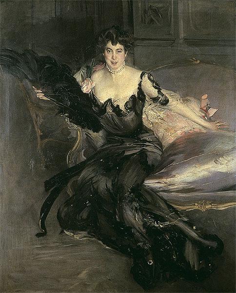 Portrait of a Lady Mrs Lionel Phillips 1903. Giovanni Boldini