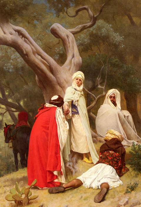Reception Of An Emir. Gustave Clarence Rodolphe Boulanger