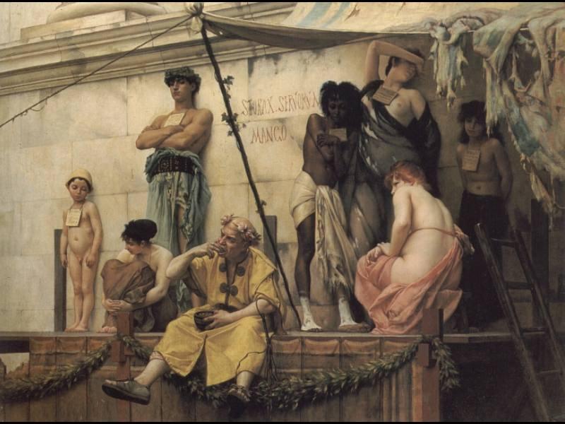 The Slave Market. Gustave Clarence Rodolphe Boulanger
