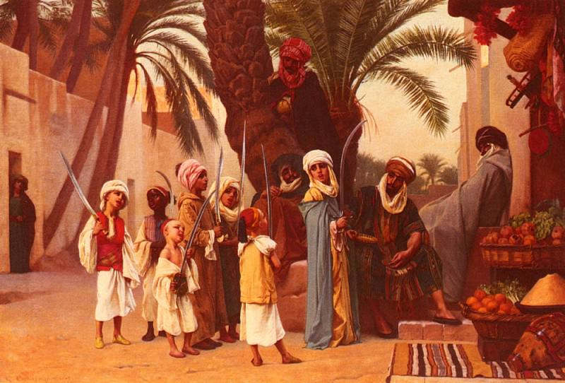 A Tale Of 1001 Nights. Gustave Clarence Rodolphe Boulanger
