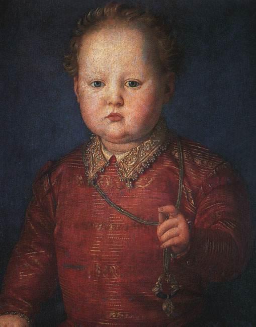 Don garcia de medici. Agnolo Bronzino