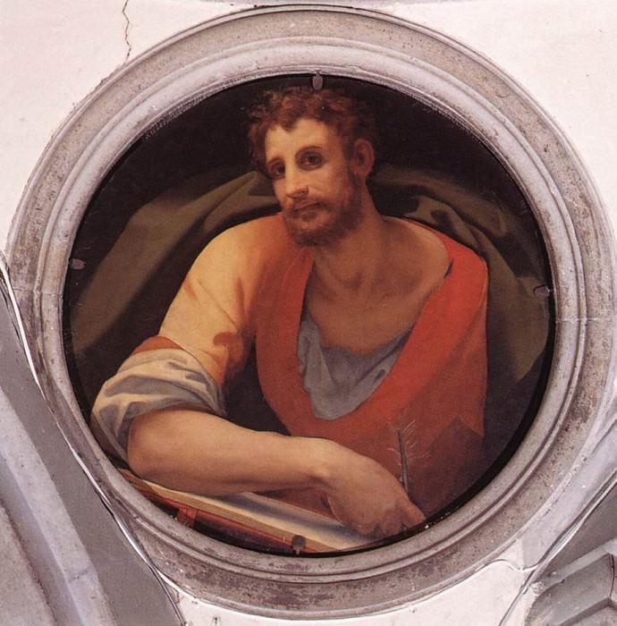St Mark. Agnolo Bronzino