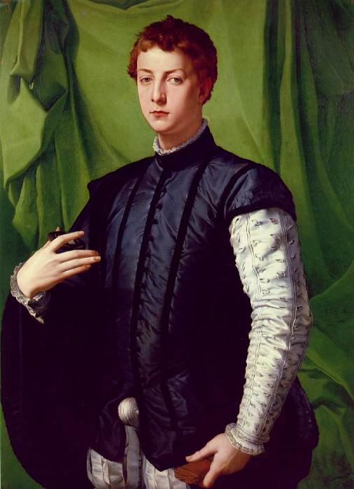 Лодовико Каппони, ок. 1550-55. Аньоло Бронзино