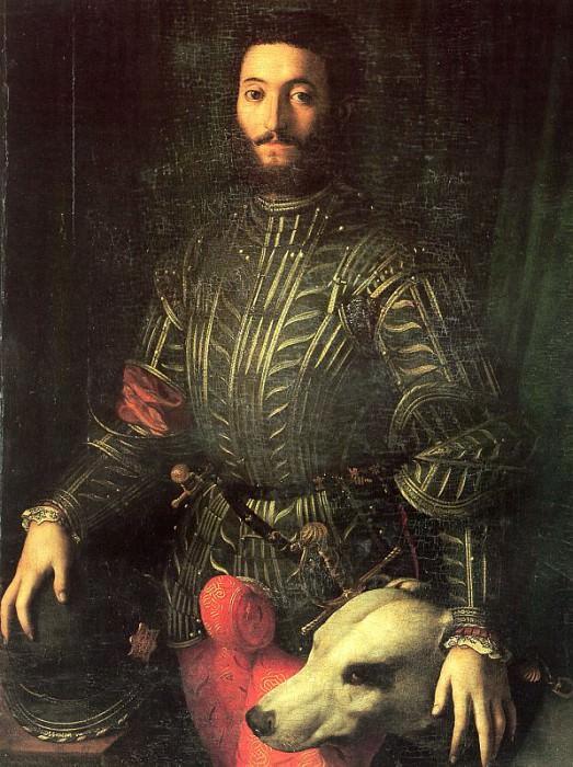 Портрет Гвидобальдо делла Ровере, 1532. Аньоло Бронзино