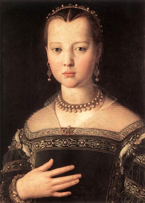 Maria de Medici. Agnolo Bronzino