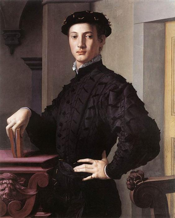 Portrait of a Young Man. Agnolo Bronzino