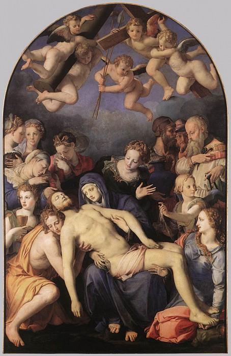 Deposition of Christ. Agnolo Bronzino