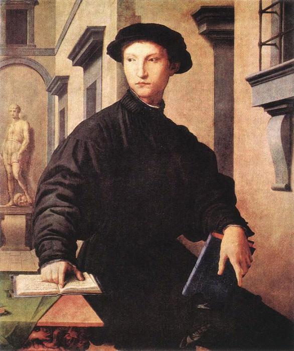 Уголино Мартелли, ок. 1535. Аньоло Бронзино