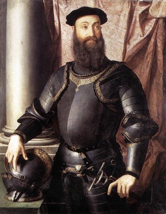Portrait of Stefano IV Colonna. Agnolo Bronzino