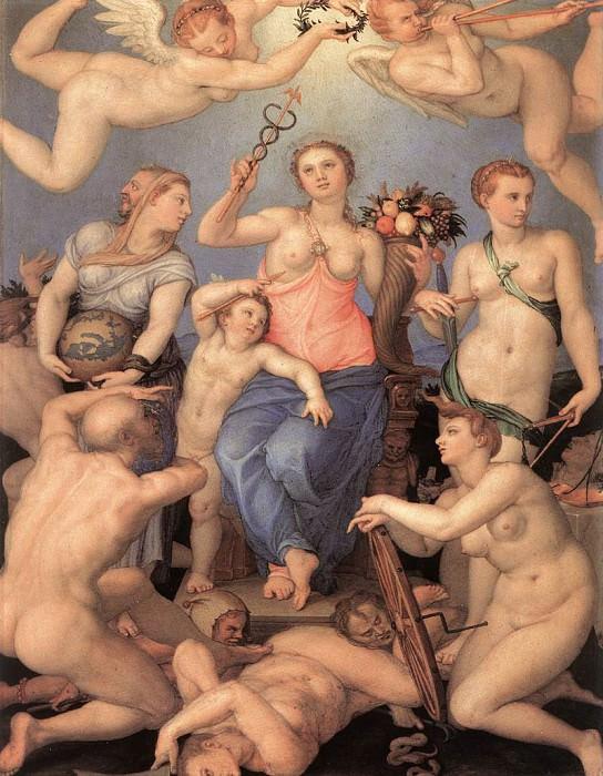 Allegory Of Happiness. Agnolo Bronzino