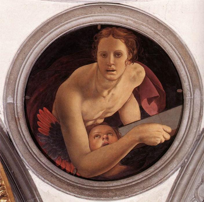 St Matthew. Agnolo Bronzino
