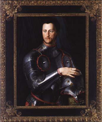 Duke Cosimo I deMedici in Armour, c.1540s, oil on. Agnolo Bronzino