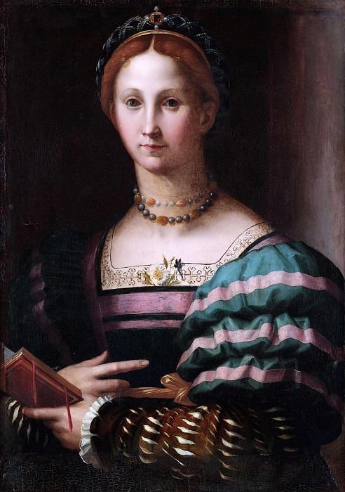 Portrait of a Lady. Agnolo Bronzino