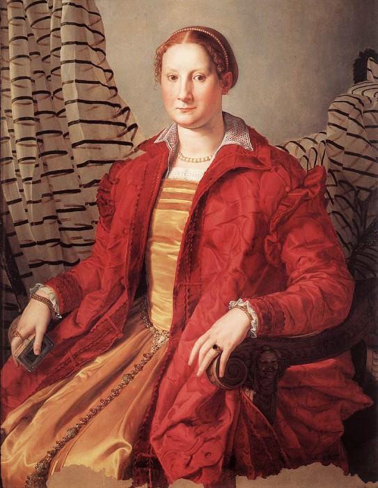 Портрет дамы. Аньоло Бронзино