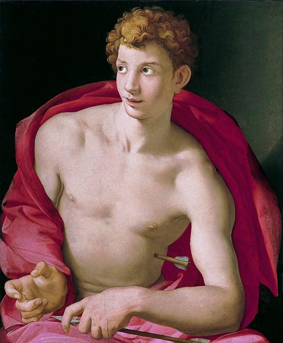 Аньоло Бронзино - Святой Себастьян. Agnolo Bronzino (Saint Sebastian)