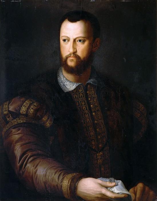 Portrait of Cosimo I Medici (school of). Agnolo Bronzino