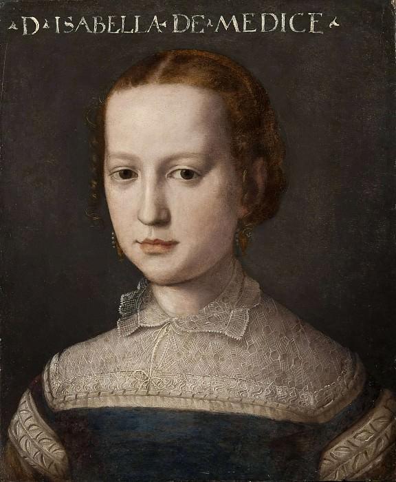 Isabella de Medici. Agnolo Bronzino (Attributed)